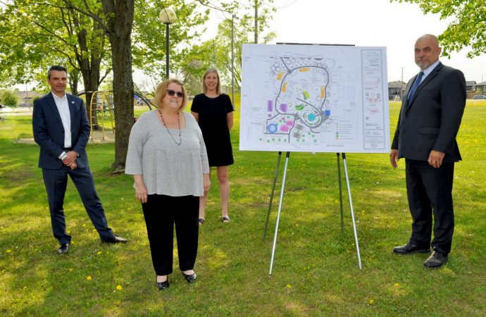 Le parc Guévremont et les installations sportives seront modernisées à St-Cyrille-de-Wendover