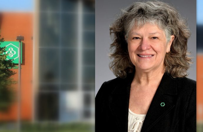 La Caisse Desjardins de Drummondville annonce et confirme la nomination de Mme Johanne Lachapelle à titre de présidente de son conseil d'administration.