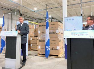 Centre-du-Québec : Plus de 1,5 M$ pour accroître la productivité des entreprises Aldes Canada et Conception E.M. 2010