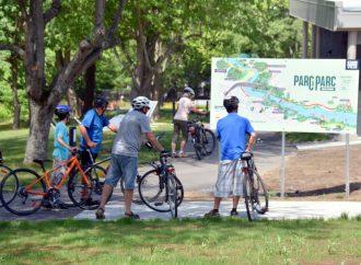 Lancement du nouveau circuit riverain Parc à Parc à Drummondville !