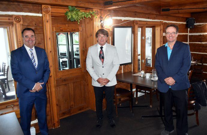 Mario Sévigny et Serge Beaulieu annoncent officiellement leur candidature aux élections municipales de Drummondville