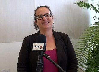 Visite dans les 12 quartiers en 12 semaines et autant d'engagements pour Stéphanie Lacoste candidate à la mairie de Drummondville