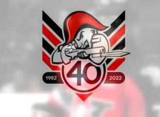 La direction des Voltigeurs dévoile le logo officiel de la 40e saison de l'histoire de la franchise
