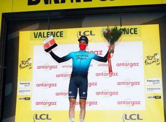 Cyclisme sur route – Tour de France, Hugo Houle remporte le prix de la combativité