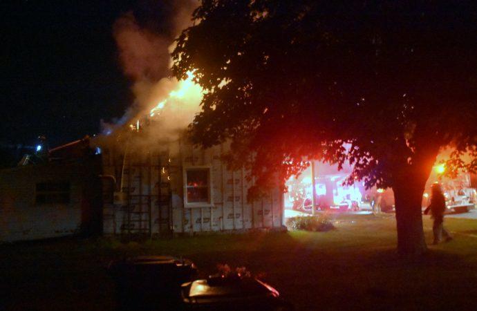 Incendie de résidence à Saint-Germain-de-Grantham