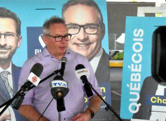 Martin Champoux présente ses priorités pour la circonscription de Drummond