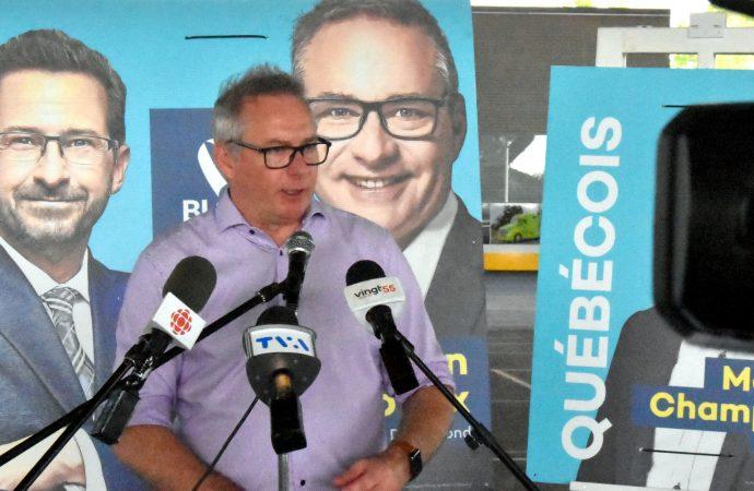 """Le Bloc Québécois, """"un allié indéfectible des producteurs agricoles"""" réitère le candidat du Bloc québécois dans Drummond, Martin Champoux"""