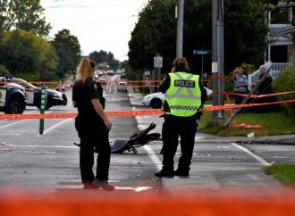 Un cycliste dans un état critique après avoir été happé par un autobus scolaire à Drummondville