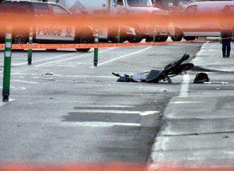 Le cycliste happé par un autobus scolaire à Drummondville succombe à ses blessures