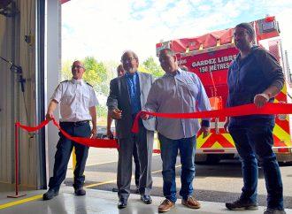 Inauguration enflammée pour la nouvelle caserne de pompiers de Notre-Dame-du-Bon-Conseil