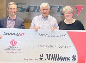 La famille Soucy annonce un don exceptionnel de 2 millions pour une cause lui tenant à cœur!