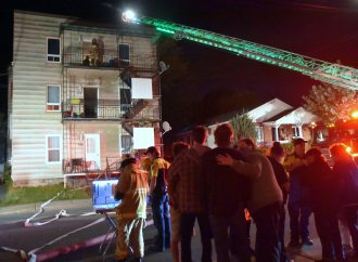 Incendie dans un multilogement de la rue Saint-Lucien à Drummondville