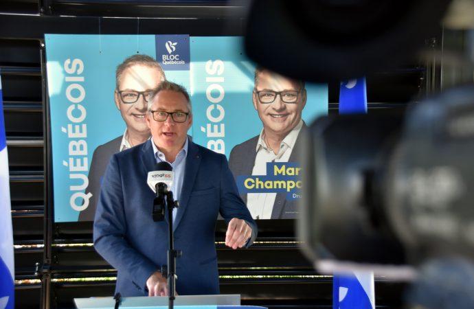 La main-d'œuvre au cœur des préoccupations et des engagements de Martin Champoux