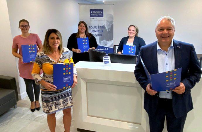 Bien plus qu'un déménagement pour Lemieux Assurances, un investissement de plus d'un demi-million pour la relocalisation des bureaux à Drummondville
