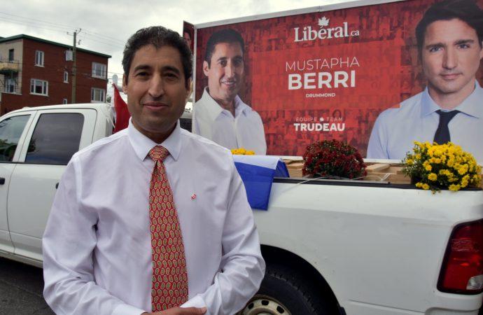 Mustapha Berri candidat libéral dans Drummond souhaite être le choix des Drummondvillois