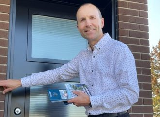 Élections municipales – La campagne électorale d'Alexandre Desbiens dans le District 2 est bien amorcée