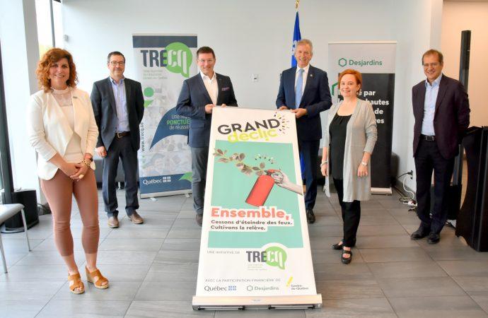 Grand déclic : Main-d'œuvre, le Centre-du-Québec mobilisé pour allumer la relève!