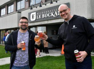 Le PDG de Duvernois Esprits Créatifs, Nicolas Duvernois investit dans la Microbrasserie Le Bockale à Drummondville