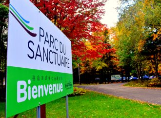 Saint-Majorique-de-Grantham donne le coup d'envoi à son important projet de développement au parc du Sanctuaire.
