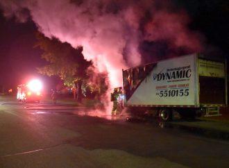 Incendie de véhicule – Un 2e incendie suspect en moins d'un mois au même endroit à Drummondville
